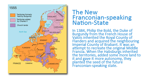 How Flanders came to be the Name of the Region Today: The New Franconian-speaking Nation-State