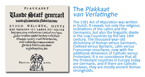 How Flanders came to be the Name of the Region Today: The Plakaat van Verlating