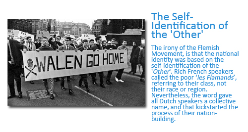 How Flanders came to be the Name of the Region Today: The Self-identification of the Other