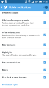 [PIC] Twitter Highlights feature - Opt in