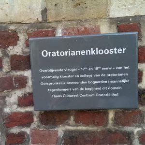 Oud Leuven: #6 Oratoriënhof