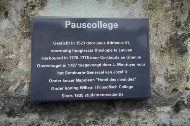 Harold Tor - Oud Leuven: Pauscollege